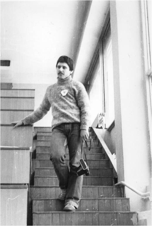А.А. Кибрик на олимпиаде