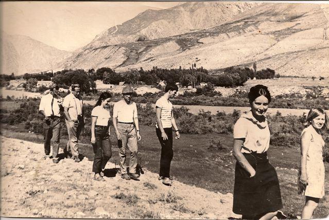 Памир, кишлак Дебаста, 1969 г.