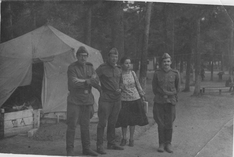 Военные лагеря, 1979 г.