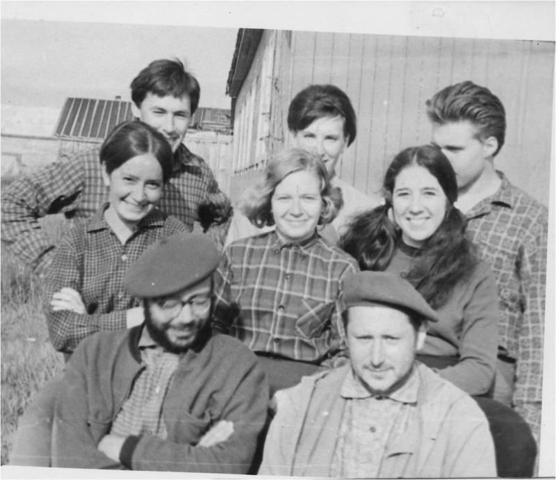 1-я Камчатская экспедиция, с. Вывенка, 1971 г.