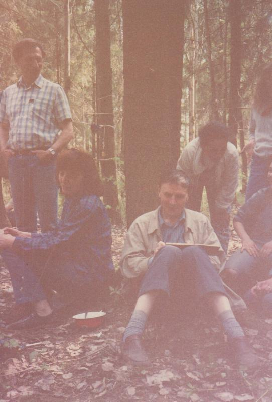 В походе, 1977 г.