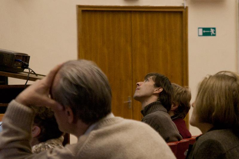 А. Архипов на юбилее кафедры 2010